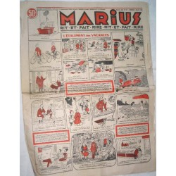 Journal ancien Marius 1958
