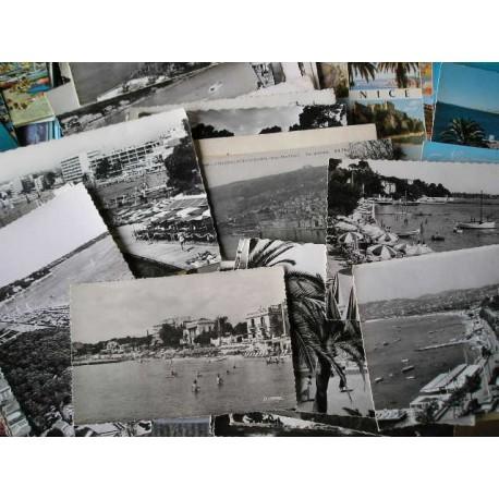 Lot de 220 cartes postales Côte d'Azur
