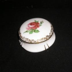Boite à bijoux ancienne, porcelaine de Limoges