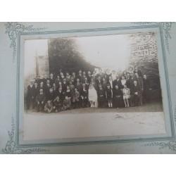 Photo ancienne de mariage années 30, Menier