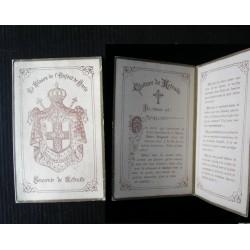 Souvenir de retraite Enfants de Marie, image religieuse
