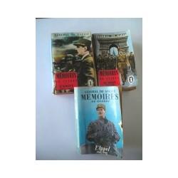 3 Livres : Les mémoires du Général de Gaulle (Poche)