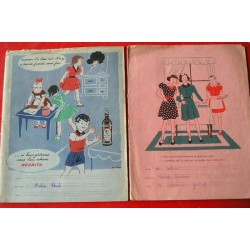 2 Protège-cahiers Negrita