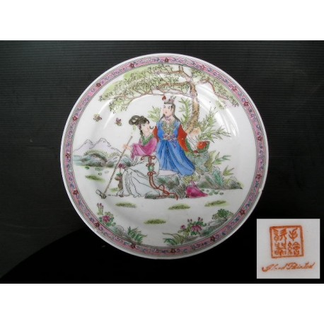Assiette asiatique 25cm