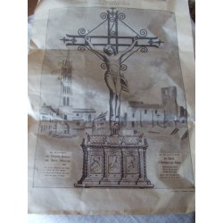 Image religieuse, Christ Oradour sur glane