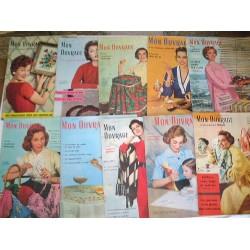 10 revues Mon Ouvrage de 1959
