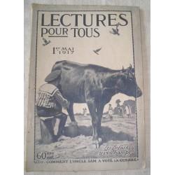 Revue ancienne 1er mai 1917 Lecture pour tous