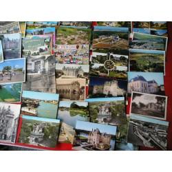 Lot de 56 cartes postales anciennes Val de Loire