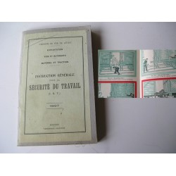 Manuel d'Instruction Générale pour la Sécurité du travail (IST)-1937-Chemin de Fer de l'état