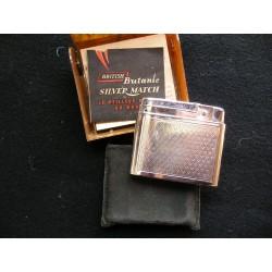 Briquet Silver match dans sa boite