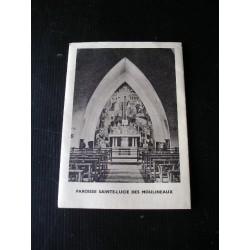 Livret de famille Paroisse ste Lucie 1957
