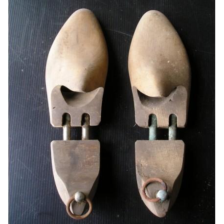 Formes-embauchoirs à chaussures en bois 26cm