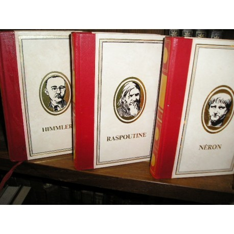 3 Livres de collection : Néron, Humler, Raspoutine