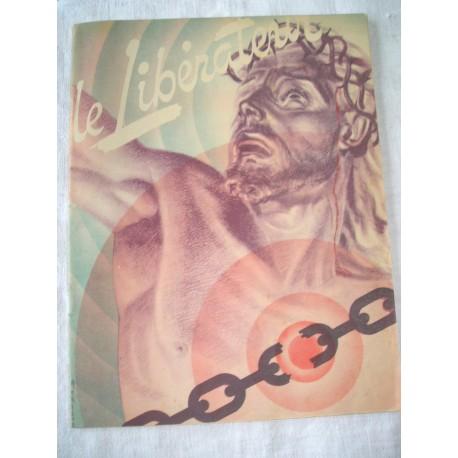 Document-Revue religieuse ancienne Le Libérateur, 1945