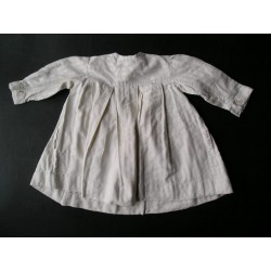 Robe blanche  ancienne 3 ans, années 40-50