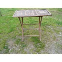 Table pliante ancienne années 30-40