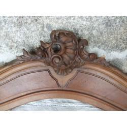 Fronton ancien sculpté,  d'armoire ou autre déco
