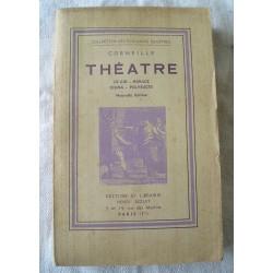 """Livre ancien : Théâtre  Corneille 1935, """"neuf"""""""