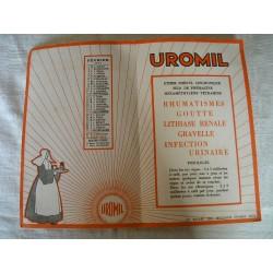Buvard Uromil 1933