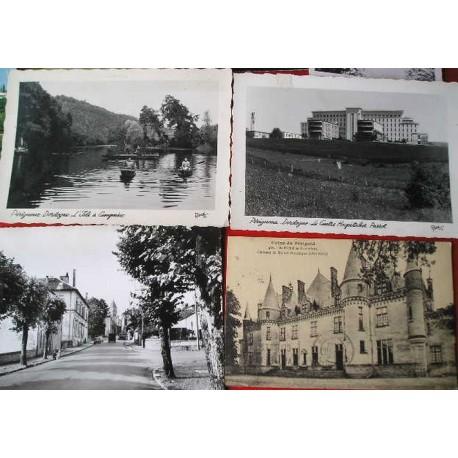 12 Cartes postales Périgord - Dordogne