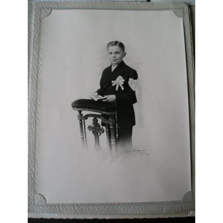 Photo ancienne de communiant