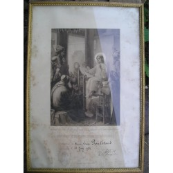 """Cadre religieux """"Diplome d'instruction religieuse  1934 """""""