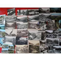 Lot de 63 Cartes postales des Pyrénées