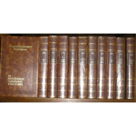 Livres de collection 19 volumes littéraires, grands auteurs
