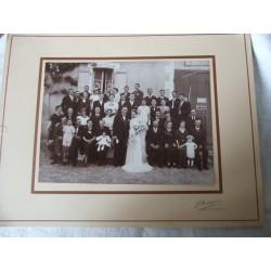 Photo ancienne de mariage