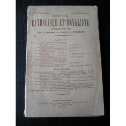 Revue Catholique et Royaliste 1907