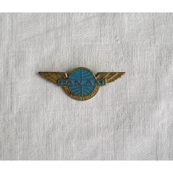 Broche badge PANAM