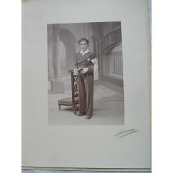 Photo ancienne , communiant , années 20-30