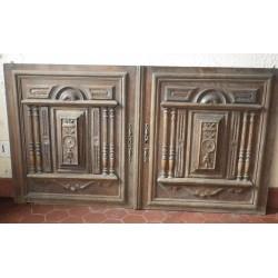 2 portes anciennes Henri II