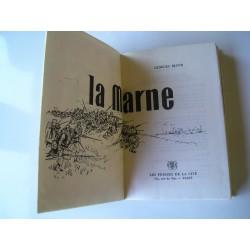 """Livre militaire """"la Marne"""" , guerre de 1914"""