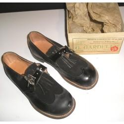 Chaussures anciennes enfant années 30 Rita Limoges