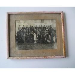 Photo de mariage, sous cadre années 20-30