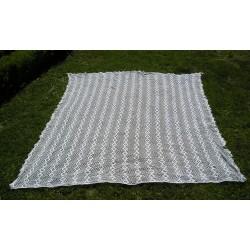 Dessus de lit ancien fait main 2.30 x 2 m