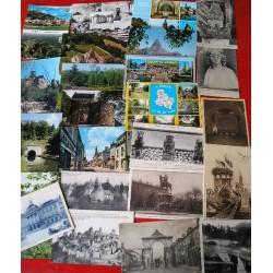 Lot de 24 CPA, EST, Reims, Metz, Marne....