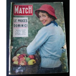 Paris match Danielle Darrieux 1954