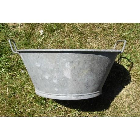 Bassine en zinc 37cm broc23 - Deco bassine en zinc toulon ...