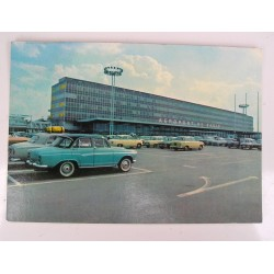 Carte postale Aéroport de Paris-Orly, simca, années 50-60