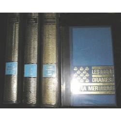 Livres  4 volumes  30 siècles sous la mer