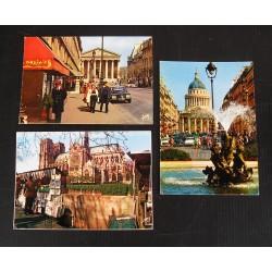 3 cartes postales années 60 Paris, Maxim's