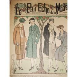 Petit écho de la mode  juillet 1925