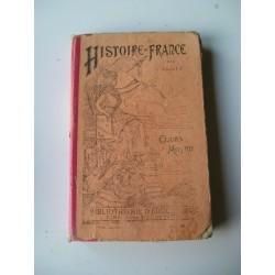 Livre scolaire Histoire de France programme 1894