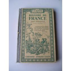 Livre scolaire Histoire de France 1927