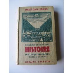Livre scolaire Histoire 1939