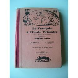 2 Livres scolaires  Français 1931-1937