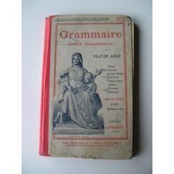 2Livres scolaires anciens de grammaire