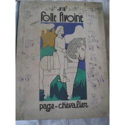 """Livre ancien pour enfants """"Folle avoine"""""""